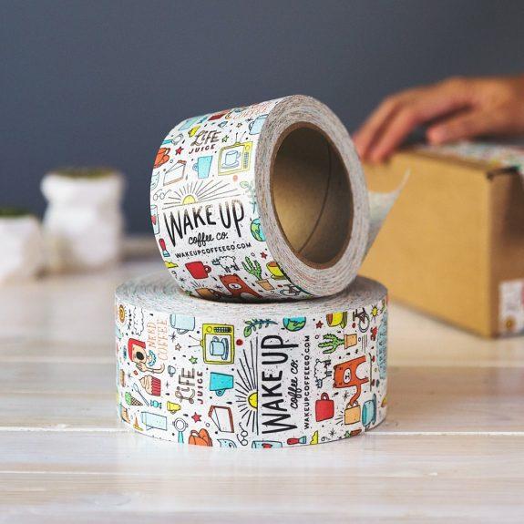 Paketbänder aus recyceltem Kunststoff
