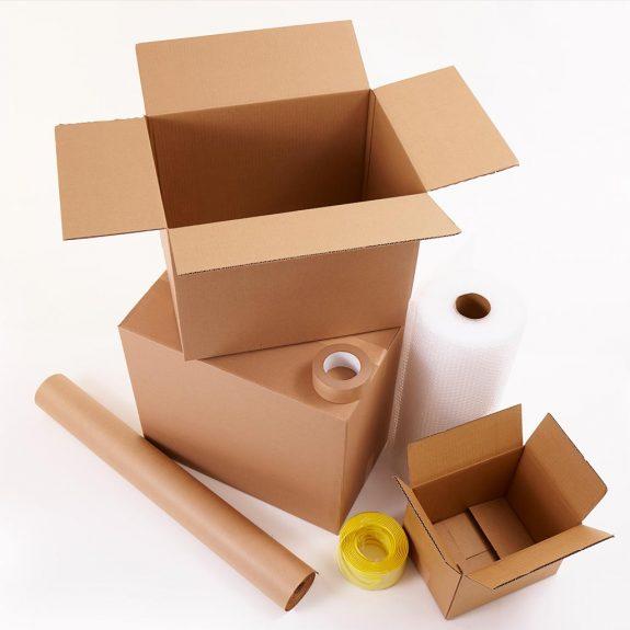 Verpackungsmaterial aus recycelten Rohstoffen